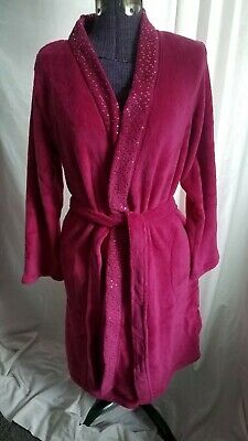 Ulta Limited Edition Plush Robe Long (Pink) S/M - NEW -