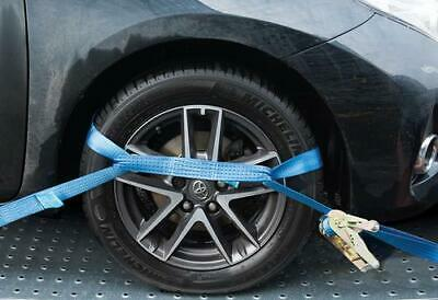 Clearance Lot494564 Alloy Wheel Car Tie Down Ratchet Strap 2000Kg Rated Trailer