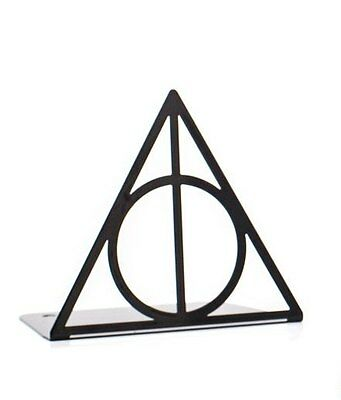 Atelier Article - Gift Steel bookend - Deathly Hallows (Black)