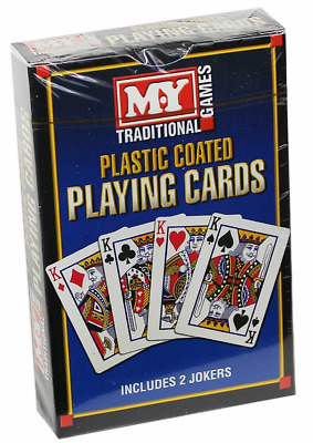 Professional Plastic Coated  Playing Cards Card Games Pass Times Fun Poker