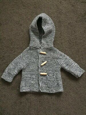 Country Road Baby - Knit Hooded Jacket. - Size 000