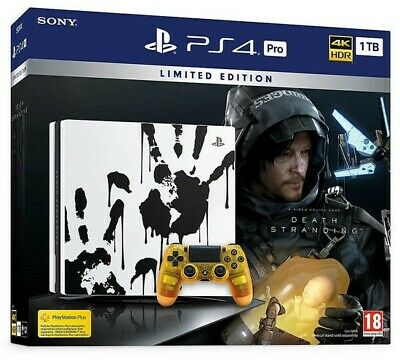 PlayStation 4 Pro 1TB Death Stranding Limited Edition - PS4, controller e gioco