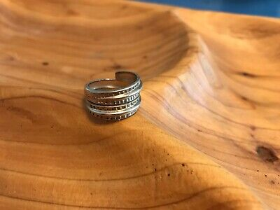 David Andersen Saga Viking Ring Sterling Silver Norway Norwegian 6.5