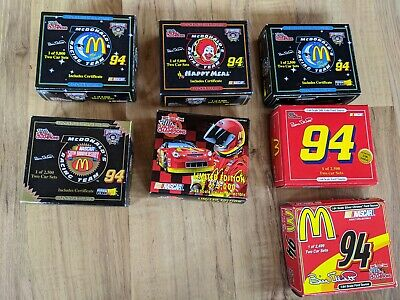 Lot Of 7 Racing Champions McDonald's Nascar Set Of Two 1:64 Scale Cars
