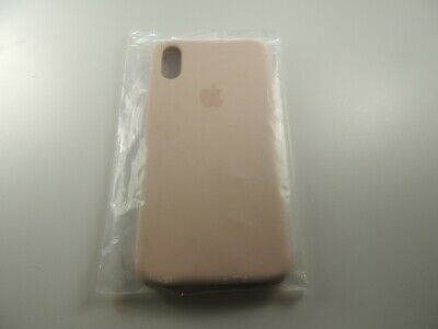 Genuine OEM Soft Silicone Case Cover For Apple iPhone X XS - Light Pink