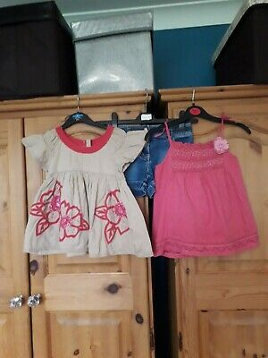girls summer clothes bundle monsoon and mini boden 5-6 years vgc