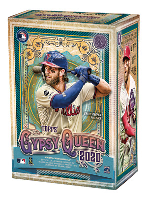2020 Topps Gypsy Queen Baseball MLB Blaster Box Exclusive Parallels