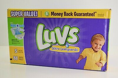 Luvs Diapers Size 5 Ultra Leakguards 88ct
