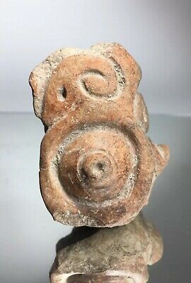 Pre-Columbian Terracotta Pottery Bird Avian ZOOMORPHIC Effigy Totem Ritual Art