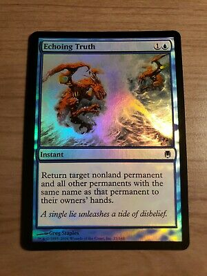 ECHOING TRUTH Darksteel MTG Blue Instant Com