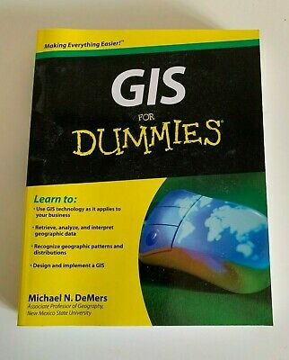 GIS for Dummies by Michael N. DeMers (English) Paperback Book