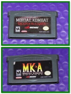 Mortal Kombat Gameboy Advance Video Game >> Pick Your GBA Game Title <<