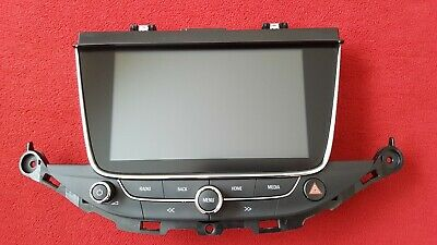 39042448 OPEL DISPLAY ASTRA K MK 7 Intellilink 900 NAVI RADIO NAVIGATION