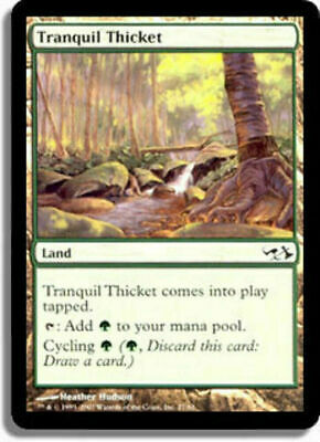 Commander Anthology Magic Stilles Dickicht 4x Tranquil Thicket