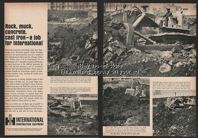 1965 International Harvester IH Equipment Power Crawler Bulldozer Tractor Ad