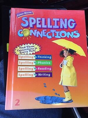2nd GRADE SPELLING CONNECTIONS SPELLING BOOK ZANER-BLOSER GREAT FOR HOMESCHOOL