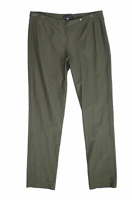 Eileen Fisher Womens Pants Green Size Small S Pull On Slim Stretch $188- 022