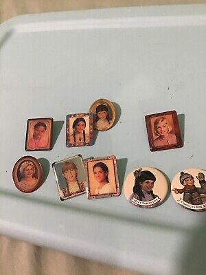 The American Girl Doll Retired Collector Pin Lot of 9 Vintage Pinback Button