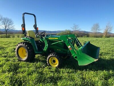 Nice John Deere 3025E 4X4 Loader Tractor with Only 97 Hours