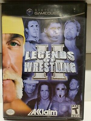 Legends of Wrestling 2 II (Nintendo GameCube, 2002) CIB