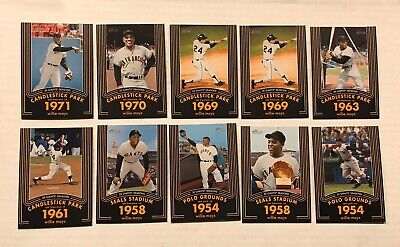2020 Topps Heritage Willie Mays Insert Cards- You Pick The Card You Want!