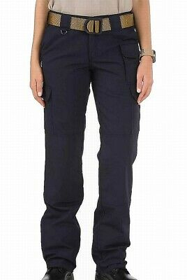 5.11 Tactical Womens Pants Blue Size 34 Button-Front Straight Leg $52 275