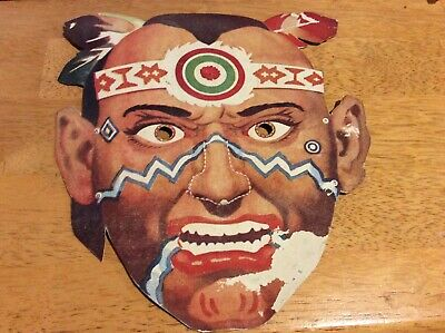 Kelloggs Cut Out Mask Vintage Collectable Cereal Toy