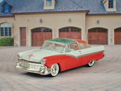 1956 Ford Fairlane Crown Victoria V-8 Skyliner Luxury Coupe 1/64 Scale Ltd Ed T