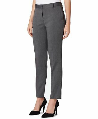 Tahari by ASL Womens Dress Pants Black Gray Size 16P Petite Stretch $89 426
