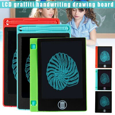 LCD Writing Tablet 4.4/6.5 Inch Electronic Drawing Board Pads Doodle Erasable AU