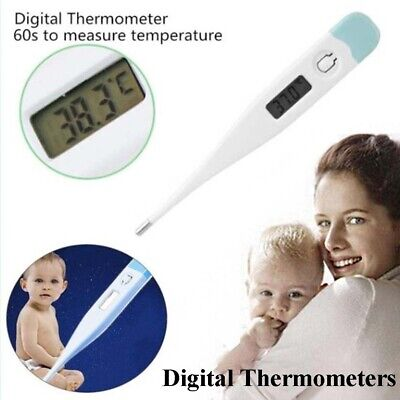 1x Digital LCD Medical Thermometer Heating Fever Temperature Baby Adult