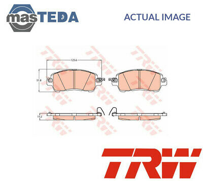 PAGID FRONT AXLE BRAKE PAD SET BRAKE KIT BRAKE PADS FOR MITSUBISHI OUTLANDER