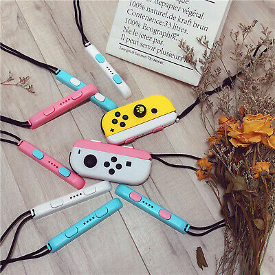 Colorful Game Controller Wrist Strap Band for Gaming Switch Joy-Con Game Parts