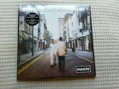 "Oasis    ""(What's The Story) Morning Glory ?""    Vinyl Lp Records   Brand New"