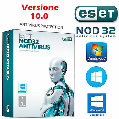 Antivirus Eset Nod 32 5 Pc -  Lic. Elettronica