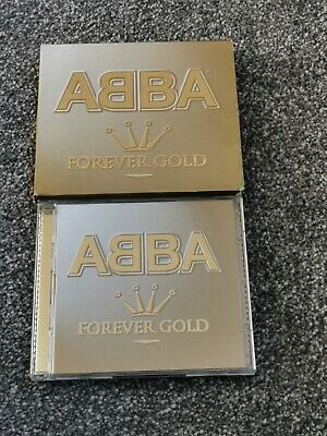 ABBA FOREVER GOLD LTD EDITION 3xCD GREATEST HITS WITH BONUS SINGLE & SLIPCASE