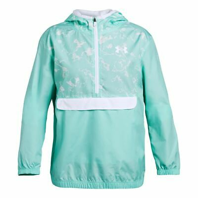 Under Armour Packable Half-Zip Jacket Girls Longsleeve mint NEW Size YXL 13/14 Y