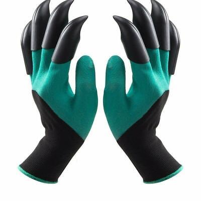 Garden Gloves With Claws Great for Digging Weeding Seeding poking Safe