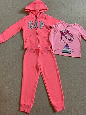 GAP girls Tracksuit 5 Years And T-shirt 4 Years