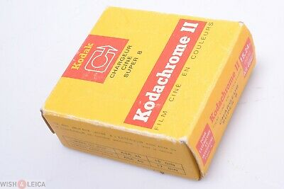 Kodak Super 8Mm Kodachrome Ii 15,24M, 50Ft Ka 464P Movie Film Sealed March 1974