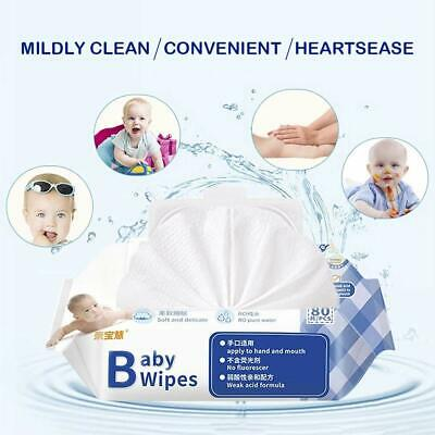 Baby Cleaning Wet Wipes Unscented, 80pcs/pack, 6 pack  sale
