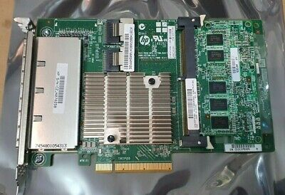 HP SMART ARRAY P822 24-PORT 6Gbps SATA/SAS HBA + RAID CONTROLLER + 2GB CACHE