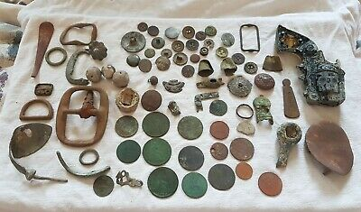 Metal Detecting Finds Lot.