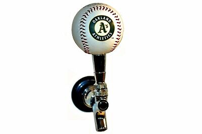 Oakland A's MLB Licensed Baseball Beer Tap Handle