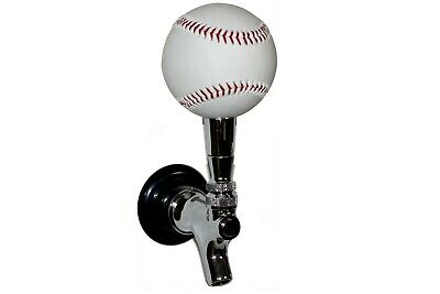 Beautiful White Baseball Beer Tap Handle