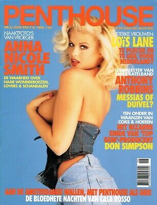 ANNA NICOLE SMITH - PENTHOUSE NETHERLANDS MAGAZINE JUNE 1996 (DUTCH) Very Good