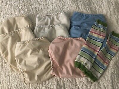Bum genius 4.0 Pocket Diapers With Snaps LOT Of 8