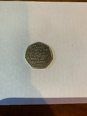 Brand New Uncirculated 2020 Brexit 50p Coin From Sealed Bag