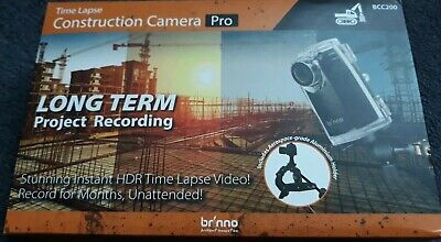 Brinno Construction Camera Pro BCC200 - Brand New Sealed- Complete Kit