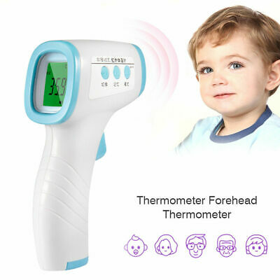 Infrared Digital Medical Forehead Fever LCD Thermometer Non-Contact Baby Adult